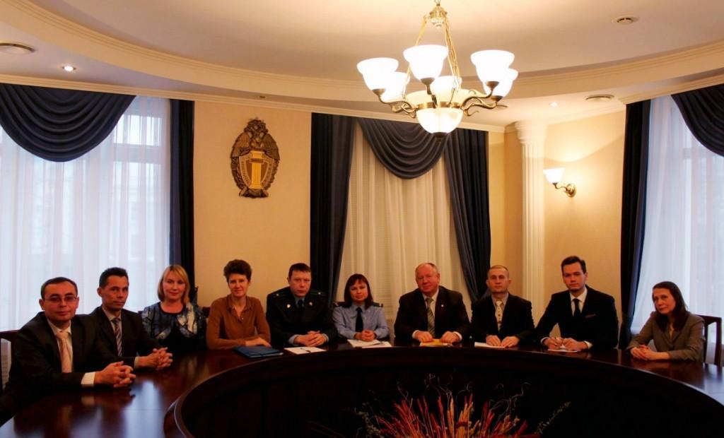 Встреча в Прокуратуре Чувашии с независимыми антикоррупционными экспертами, 2015 год.
