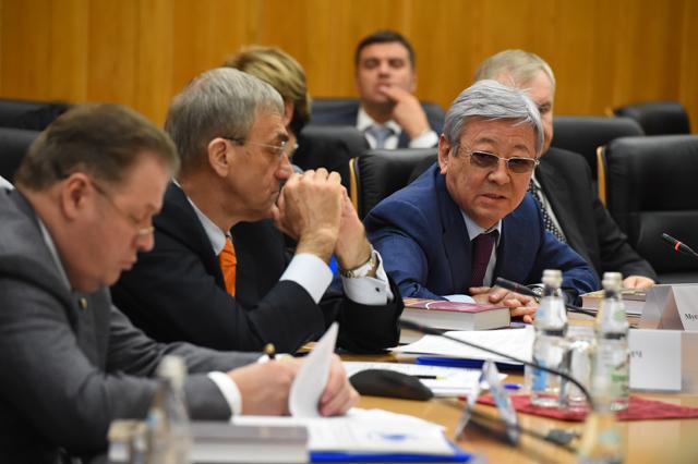 Алимбеков М.Т., председатель Карагандинского областного суда (Республика Казахстан)