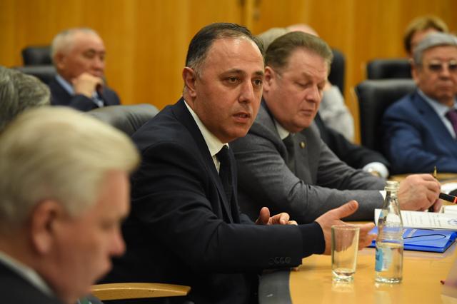 Гараджаев Д., судья Конституционного Суда Азербайджанской Республики, заместитель председателя Конфедерации юристов Азербайджана