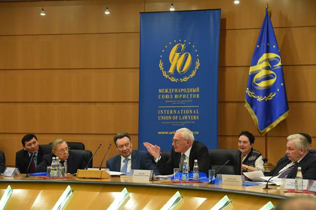Цнобиладзе П.Г., заместитель председателя Международного союза юристов, председатель Союза юристов Грузии