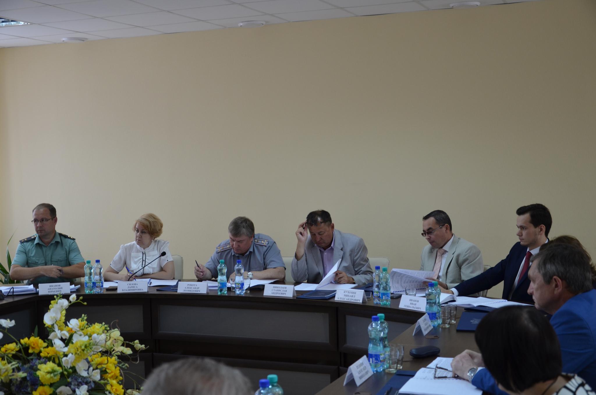Координационный совет Управление минюста России по Чувашии
