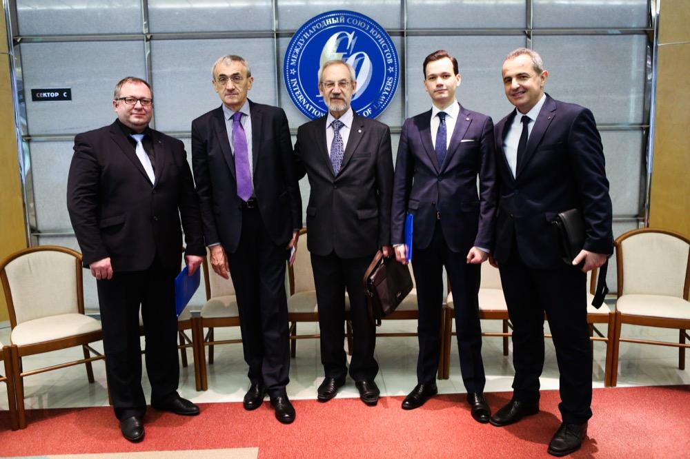 Иванов И.Г. с коллегами из Самары, Республики Сербия, Республики Сербской, 2018 год.