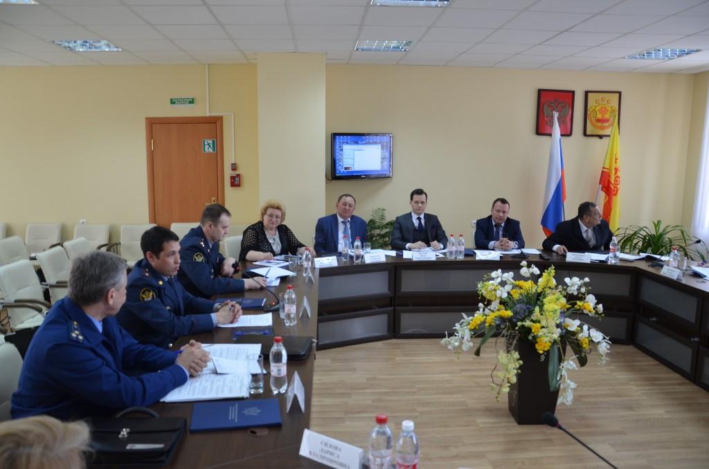 Заседание Минюст России по Чувашии