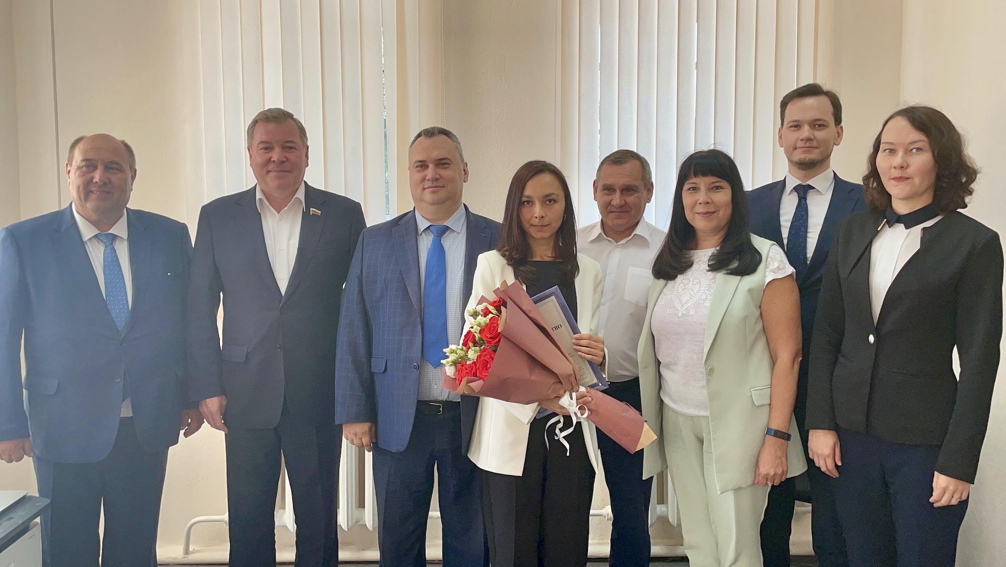 Открытие представительства Союза юристов Чувашской Республики в г. Ядрин, 2021 год.